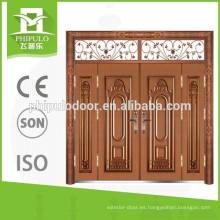 La última puerta de hierro principal de diseño villa de entrada para residencial
