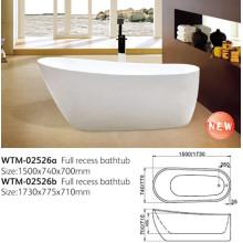 Овальная акриловая ванна (wtm в 02526)