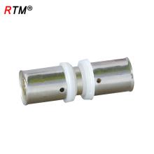 L 17 4 13 Großhandel pex Rohrverschraubungen Messing Pressfitting für Pex-al-Pex Rohr Messing Pressfitting