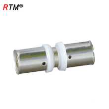 L 17 4 13 wholesale pex pipe fittings brass press fitting for pex-al-pex pipe brass press fitting