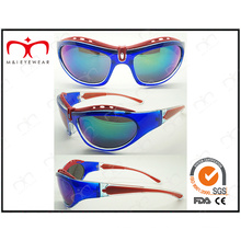 Diseño especial y gafas de sol de colores brillantes deportivos (lx9850)