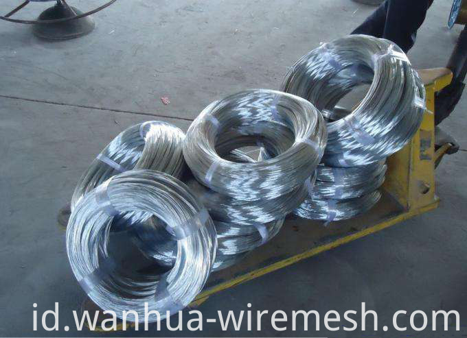 2.2mm Low Carbon Steel Wire Galfan Wire (1)