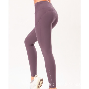 Active Pocket High Rise Comperession Tight Femme