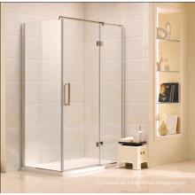 Baño de baño de vidrio simple recinto de ducha de cristal (K21)