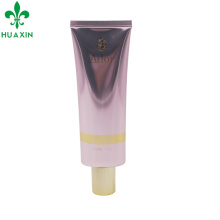 diameter 40mm 125ml glossy cosmetic tube with screen printing