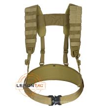 ISO Standard Manufacturer Tactical Army Suspender Military Haress for security outdoor sports hunting game