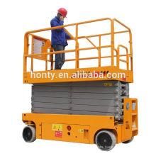 10m self propelled electric hydraulic scissor lift table
