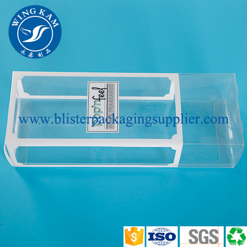 Unique Soft Crease Tranaparent Clear Plastic Folding Box