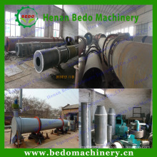 High praised screw conveyor sawdust drying machine/rice husk dryer