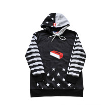 Good Quality Leisure Sport Hoodie Manufacturer with Customized Design (H5016)