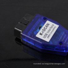 Conecta por USB de BMW - OBD K + Dcan diagnóstico Cable