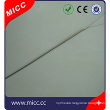 1mm diameter probe connector type one end dismantled mi thermocouple
