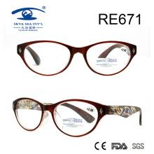 Шаблон высокого качества с высоким весом в стеклянных очках для чтения (RE671)