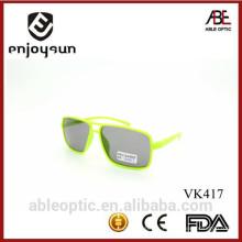 Meilleures ventes populaires double couleur mignon enfants enfants lunettes de soleil lunettes de vue en gros avec ABC
