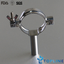 Stainless Steel Pipe Holder with Handle