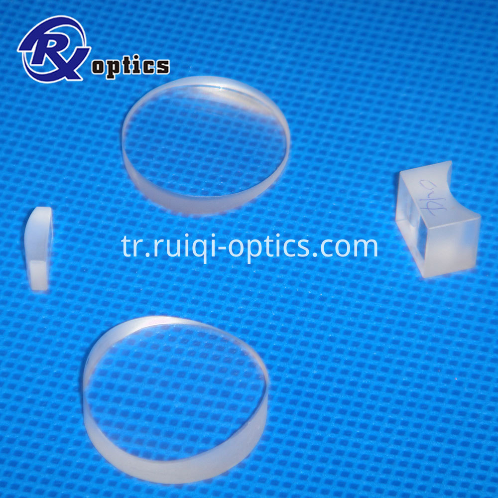 uv fused silica plano concave cylindrical lens