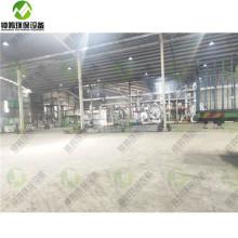 Industrie du raffinage de l'huile moteur des déchets