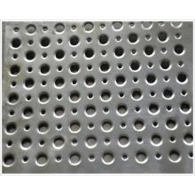 Acier feuilleté perforé / Feuille métallique perforée Acier doux / Acier métal perforé