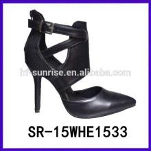 SR-15WHE1533 calza los zapatos de los altos talones de las señoras de los altos talones de las mujeres zapatos de los altos talones muy altos