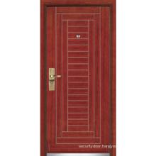 Steel Wooden Armored Door/Steel Wood Security Door (YF-G9002)