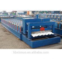 XN-1050 froide metel toiture galvanisé tuile vernissée faisant la machine