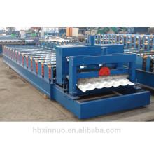 XN-1050 cold metel roofing galvanized glazed tile making machine
