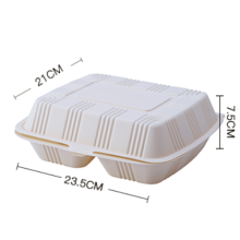 Biodegradable take away food packaging box /Disposable Corn Starch Food Container