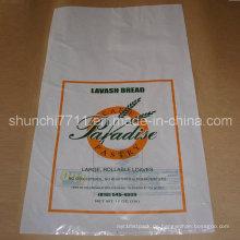 Weiß PE Brot Verpackung Beutel (30 * 45CM * 50UM)