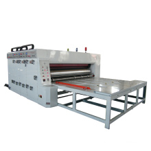 Chain Feeder Corrugated Board Slitter Creasing Machine  / Carton Box Making Machine