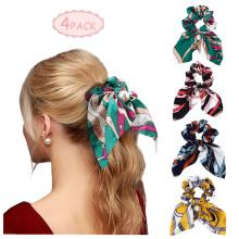 Шарф Резинки для волос Жемчуг Атласная завязка для волос