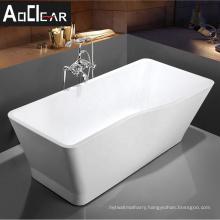 Aokeliya small acrylic freesatanding massage bathtub in hangzhou