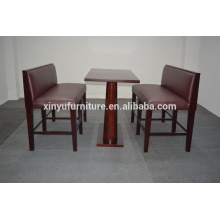 Banquet booth sofa seat with dining table XYN1299
