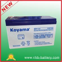 12V 7ah Bleisäure AGM Batterie für Notbeleuchtung, UPS, Überspannungsschutz