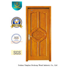 Chinese Style Wood Door with Carving for Interior (ds-6026)