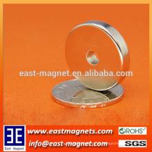 OD25 * ID5 * 5mm Ring Neodym Magnet für Verkauf / N35 starker Magnet für Unterlegscheibe