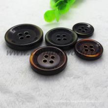 4 agujeros hermoso botón de abrigo