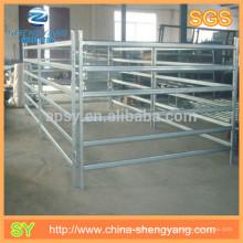 Metal animal sumergido caliente galvanizado pastizales panel de la cerca