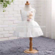 Latest Children Frocks Birthday Lace short A Line Flower Girl Dresses Pattern for Kids Party