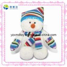 Boneco de neve engraçado costume brinquedo de presente de Natal de pelúcia (xdt-0183)