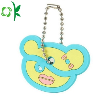 Kartun Silicone Key Cover Lucu Animal Key Holder