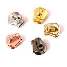 Wholesale Low Price Garments Slider Head Zipper Head Zinc Alloy Metal Slider Head