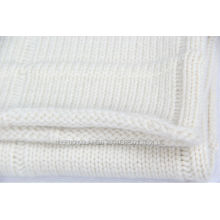 Comfortable Knitted Cashmere Baby Blanket
