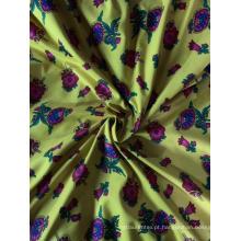 tecido de folha de cama com impressão rotativa pigmento poliéster
