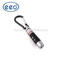 Lanterna de presente baratos do presente do preço de fábrica, lanterna elétrica do presente da corrente chave do diodo emissor de luz