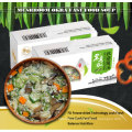 Low fat and nutritious freeze dried food okra soup