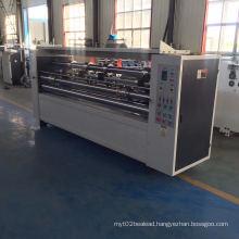 Good quality carton making machine thin blade slitter creaser machine