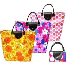 Promotional fabric shopping bag foldable