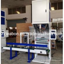 Máquina automática de embalaje / ensacado de pellets de madera