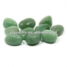 Зеленый авантюрин Упавший камень