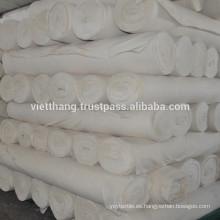 Tejido gris - 100% algodón cardado / 128 * 60 CD20 * CD16